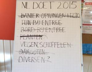 NL Doet: alle activiteiten uitgevoerd