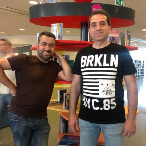 Ahmad Alaji en Kousay Alhelo