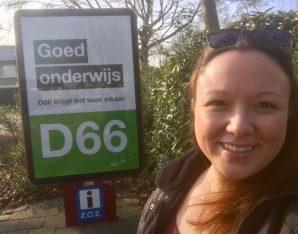 Selfie StemD66 Nieuwegein